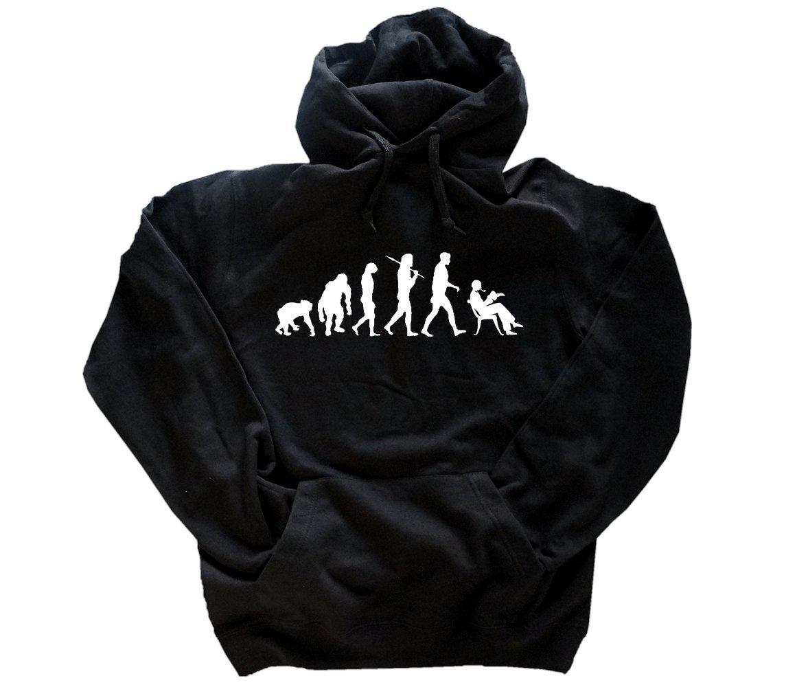 Shirtzshop T shirt Evolution Lehrer B00PSQU1ZU T Shirts