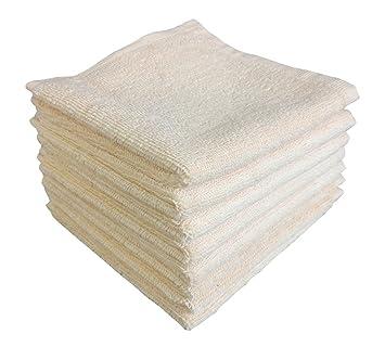 Lavado paño paños de cocina por ámbar internacional, 8 Pack toallas de baño, 100% algodón ...