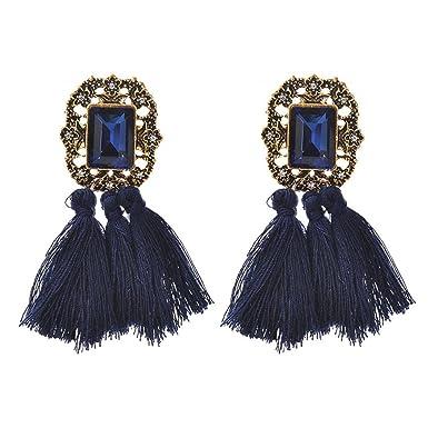 Boucles Covermason Femmes En Cristal D D'oreilles Pompon NkwX80OPn