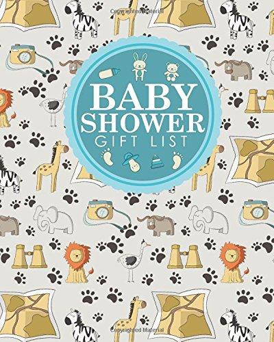 Baby Shower Gift List: Baby Shower Gift Book, Gift Lists Registry, Gift Log For Baby Shower, Gift Recording Book, Recorder, Organizer, Keepsake, Cute ... Cover (Baby Shower Gift Lists) (Volume 45) pdf epub