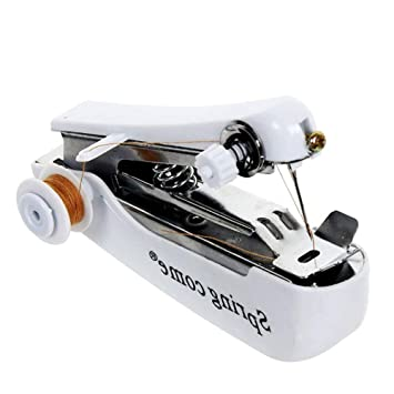 NiceButy portátil Máquina de coser manual Mini costura de la herramienta de mano de la puntada