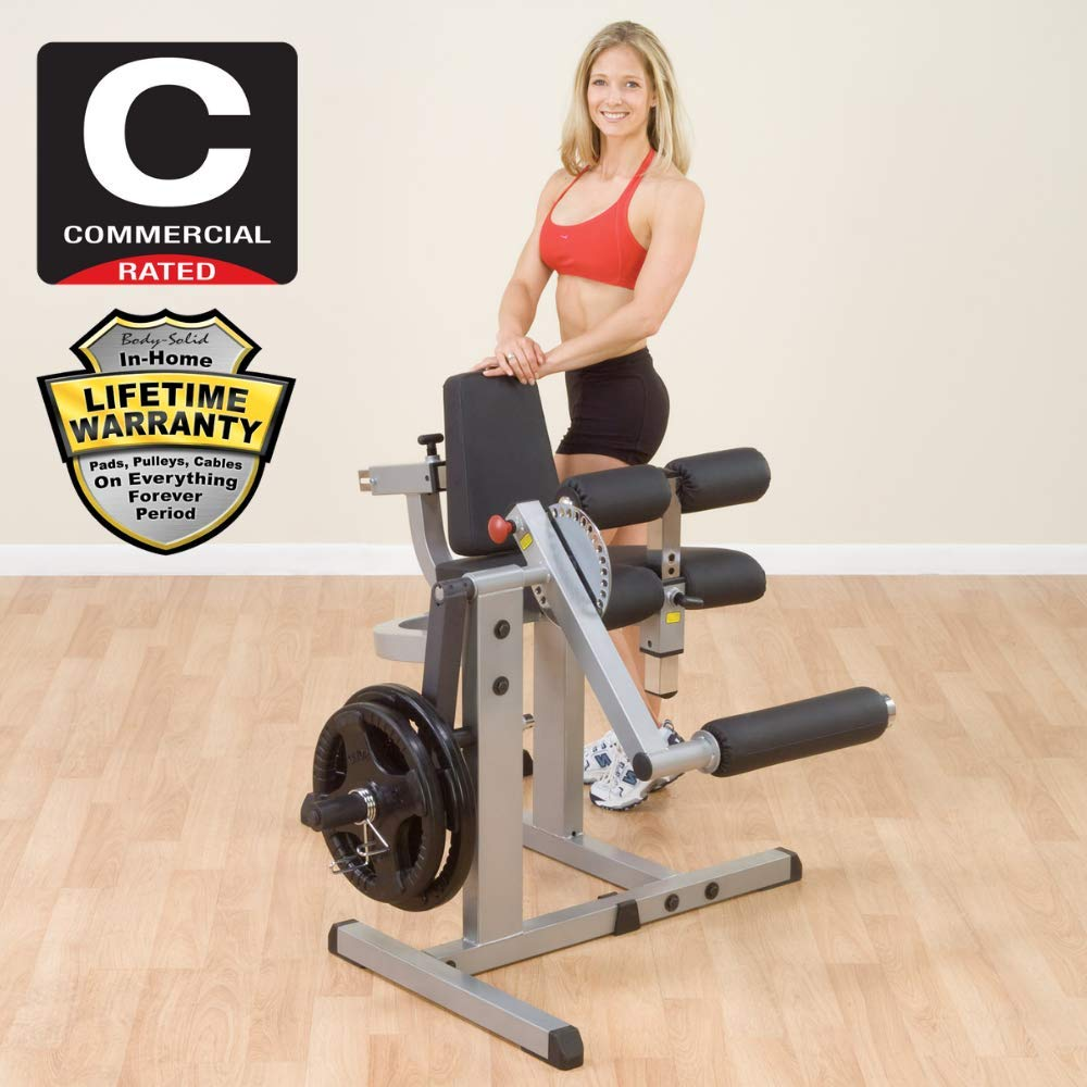 Body-Solid Cam Series Leg Extension and Curl Machine (GCEC340) by Body-Solid (Image #5)