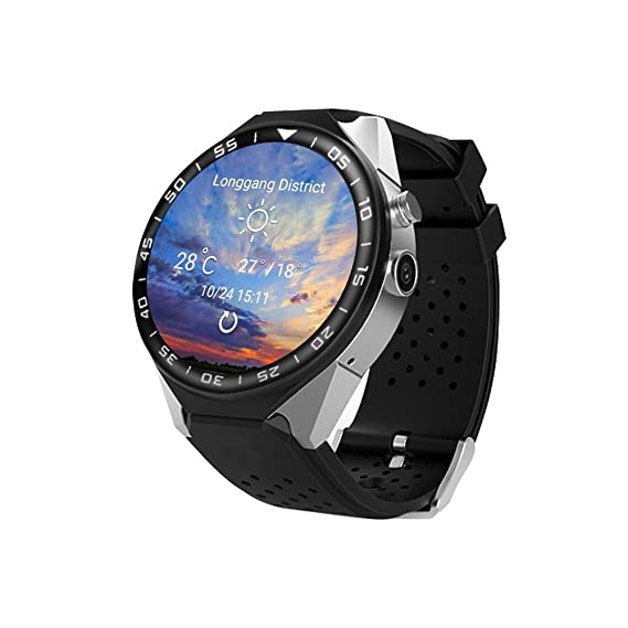 Fine Kospet Kw88 Pro 1.39 Bluetooth 4.0 Android 7.0 Quad Core Touch Screen 1gb 16gb Mtk6580 Gps Wearable Device 3g Smart Watch Phone Wearable Devices
