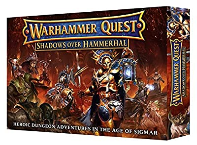 Warhammer Quest Shadows Over Hammerhal (Heroic Dungeon Adventures in the Age of Sigmar) from Games Workshop