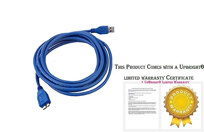 NEW USB 3.0 PC Cable Cord Lead For Seagate SRD0SP1 100718104 External Hard Drive