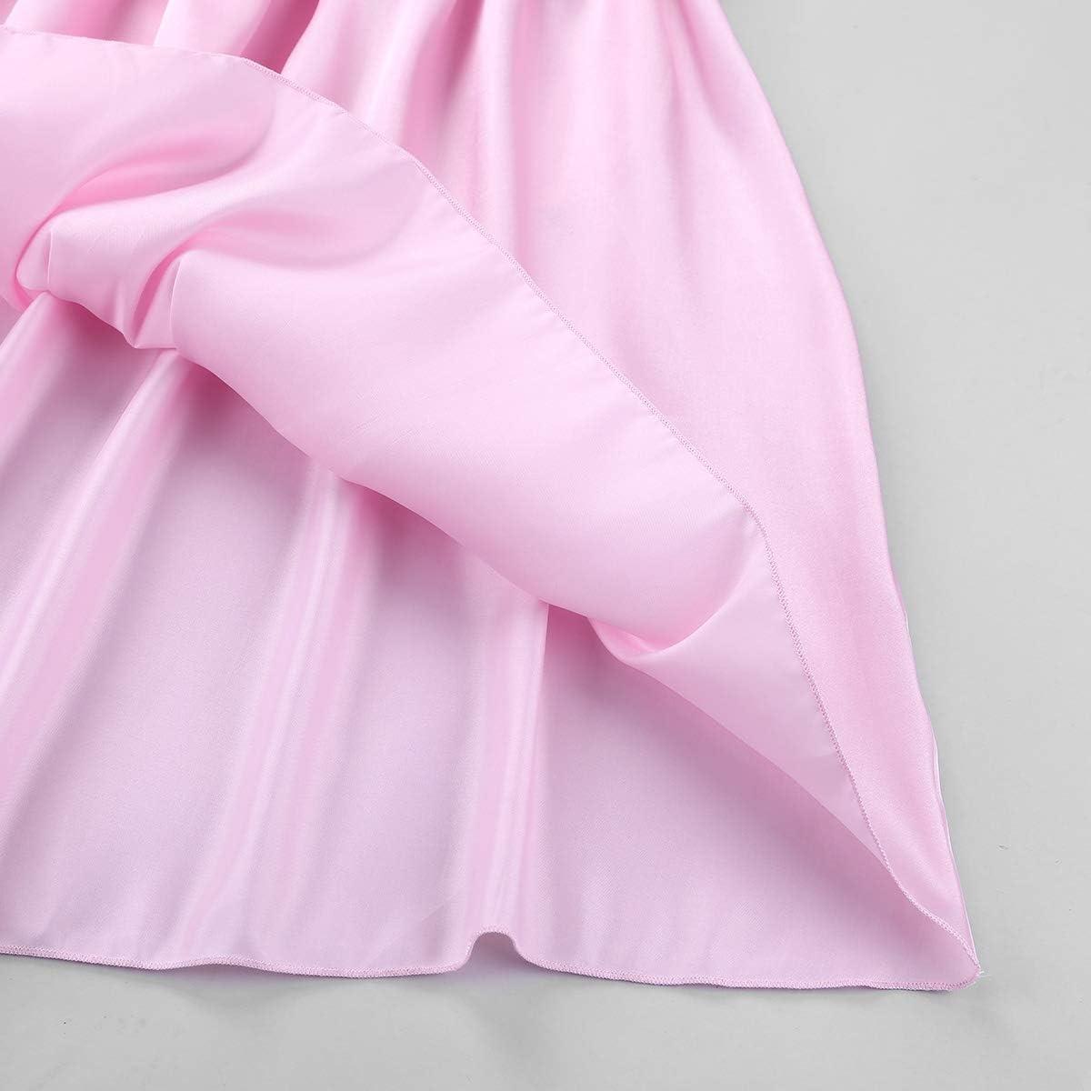 iixpin Herren Sissy Kleider M/änner Cosplay Unterw/äsche Satin Schlafanzug Dessous-Crossdresser Reizvoll Schlafanzug Party Bekleidung
