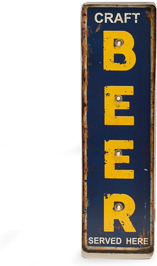 Bey Berk Craft Beer Metal Sign LED-Lighted