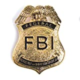 HMS Men's Fbi Badge - Pin Back