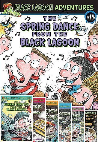 The Complete From the Black Lagoon Adventures Set, Books 1-27 (The Class Trip From the Black Lagoon, the Talent Show From the Black Lagoon, the Class Election From the Black Lagoon, the Science Fair From the Black Lagoon, the Halloween Party From the Black Lagoon, the Field Day From the Black Lagoon, the School Carnival From the Black Lagoon, Valentine's Day From the Black Lagoon, the Christmas Party From the Black Lagoon, the Little League Team From the Black Lagoon, the Snow Day From the Black Lagoon, April Fool's Day From the Black Lagoon, Back-to-school Fright From the Black Lagoon, the New Year's Eve Sleepover From the Black Lagoon, the Spring Dance From the Black Lagoon, Thanksgiving Day From the Black Lagoon, Summer Vacation From the Black Lagoon, Author Visit From the Black Lagoon, St Patricks Day From the Black Lagoon, School Play From the Black Lagoon, 100th Day of School From the Black Lagoon, Class Picture Day From the Black Lagoon, Earth Day From the Black Lagoon, Summer Camp From the Black Lagoon, Friday the 13th From the Black Lagoon, the Big Game From the Black Lagoon & the Amusement Park From the Black Lagoon