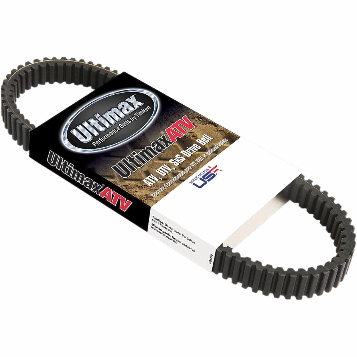 BK Power Systems UA441 Carlisle Ultimax Hypermax Belt, Rubber 50000522 PU-11420419