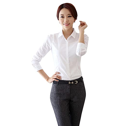 0f9229bf70d Soly Tech Women Lady Office T-Shirt Work Business Career Tops Blouse