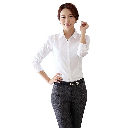 d59020ee2b111e Soly Tech New Women Office Lady OL T-Shirt Working Business Nursing Career Tops  Blouse