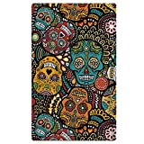 Perfect Gifts - Extra Large Towel For Travel Beach Pool Yoga Gym - Mexican Sugar Skulls Bath Towels For Men Women Teens Kids - Oversized 40'' X 70''
