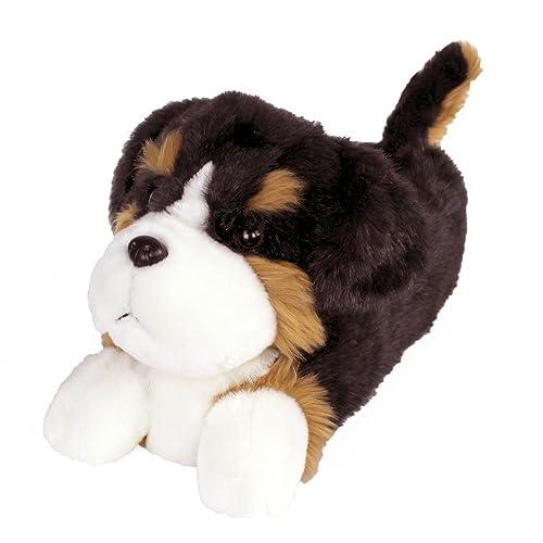Amazon Com Bernese Mountain Dog Slippers Plush Animal Slippers