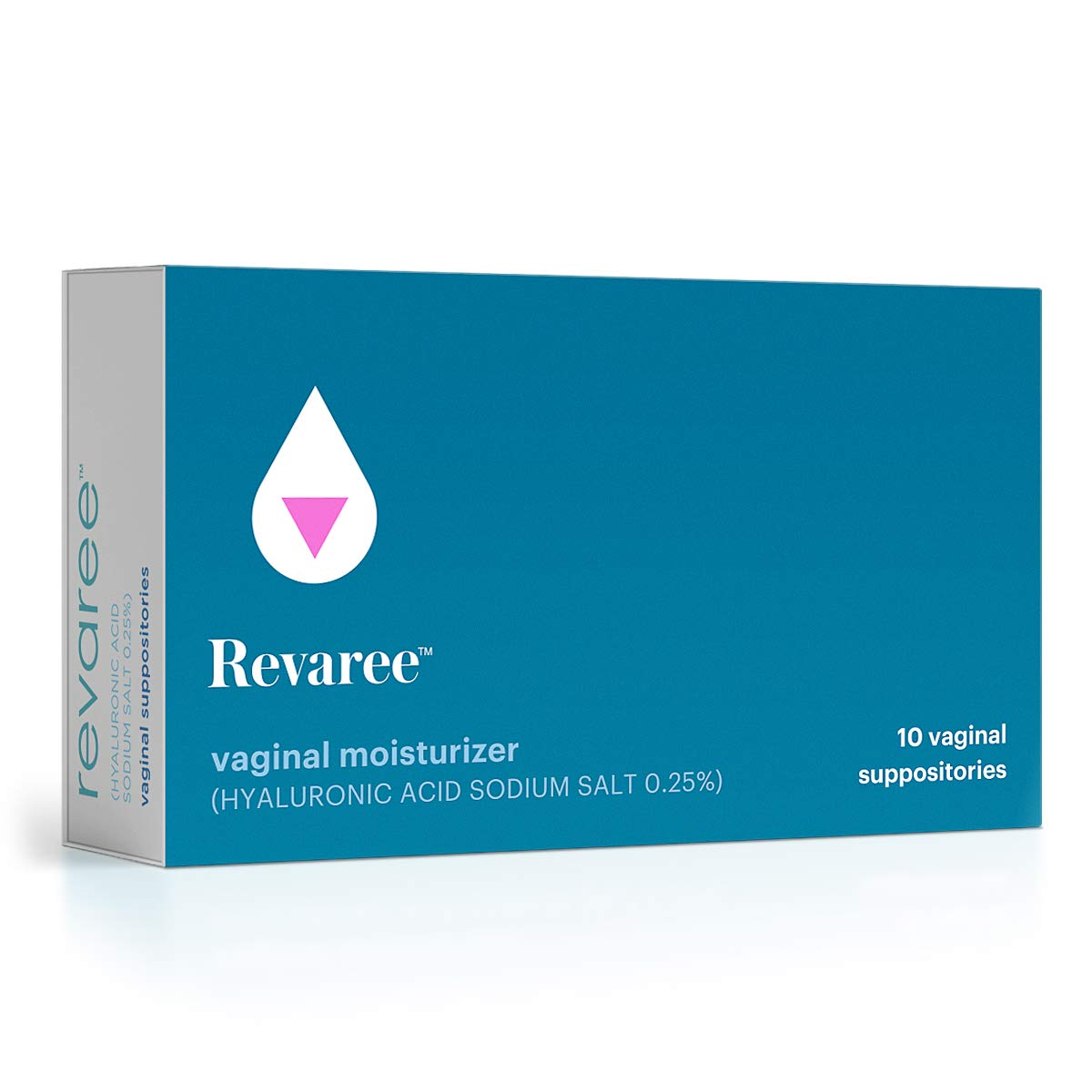 Bonafide – Revaree Hyaluronic Acid for Vaginal Dryness – Non-Hormonal, Paraben-Free (10 Vaginal Inserts)