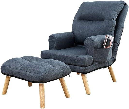 Chaise de sol Salon en bois rembourré moderne Chaise ...