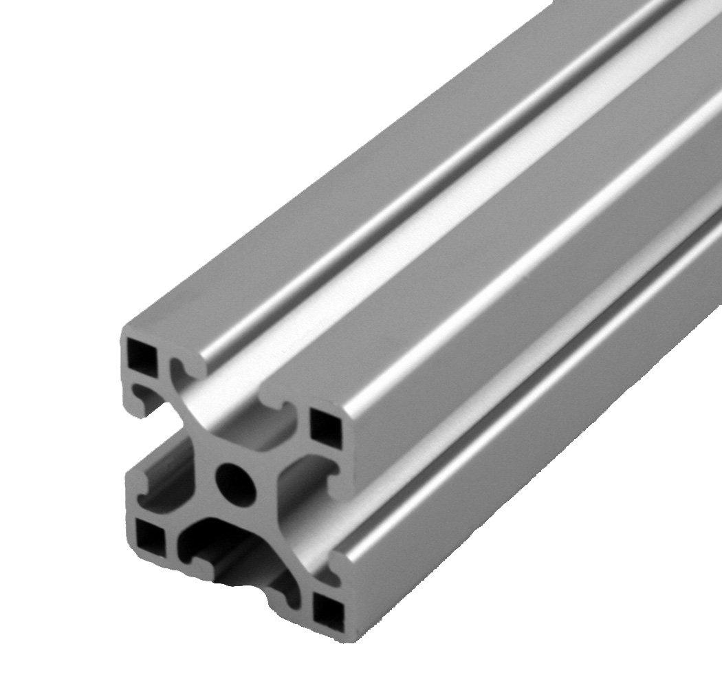 Clear Anodize 3 Length x 1-1//2 Width x 3//4 Height Faztek 15 Series 15EX//QE1530 Base Plate Aluminum 6063-T6 For 3//8-16 Thread 3 Length x 1-1//2 Width x 3//4 Height