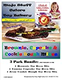 easy dough - Mojo Stuff Galore Easy Bake Oven Refill/3 Pack Cake Batter, Cookie Dough & Brownie Mixes