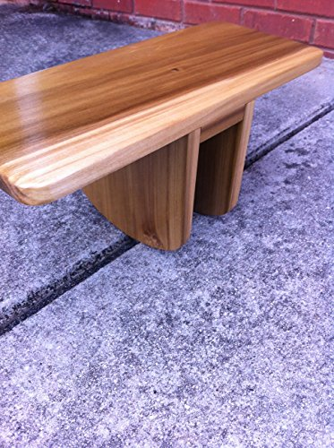 HandCrafted Pi Meditation Bench Made of Poplar For Sale