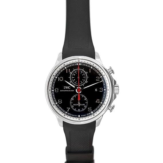 IWC portugieser Yacht Club Chrono swiss-automatic Mens Reloj 3902 (Certificado) de segunda mano: IWC: Amazon.es: Relojes
