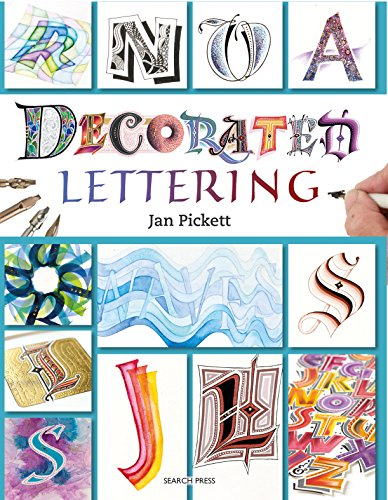 Decorated Lettering by [Pickett, Jan]