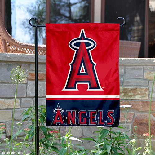 Angels Flag (Los Angeles Angels Double Sided Garden Flag)
