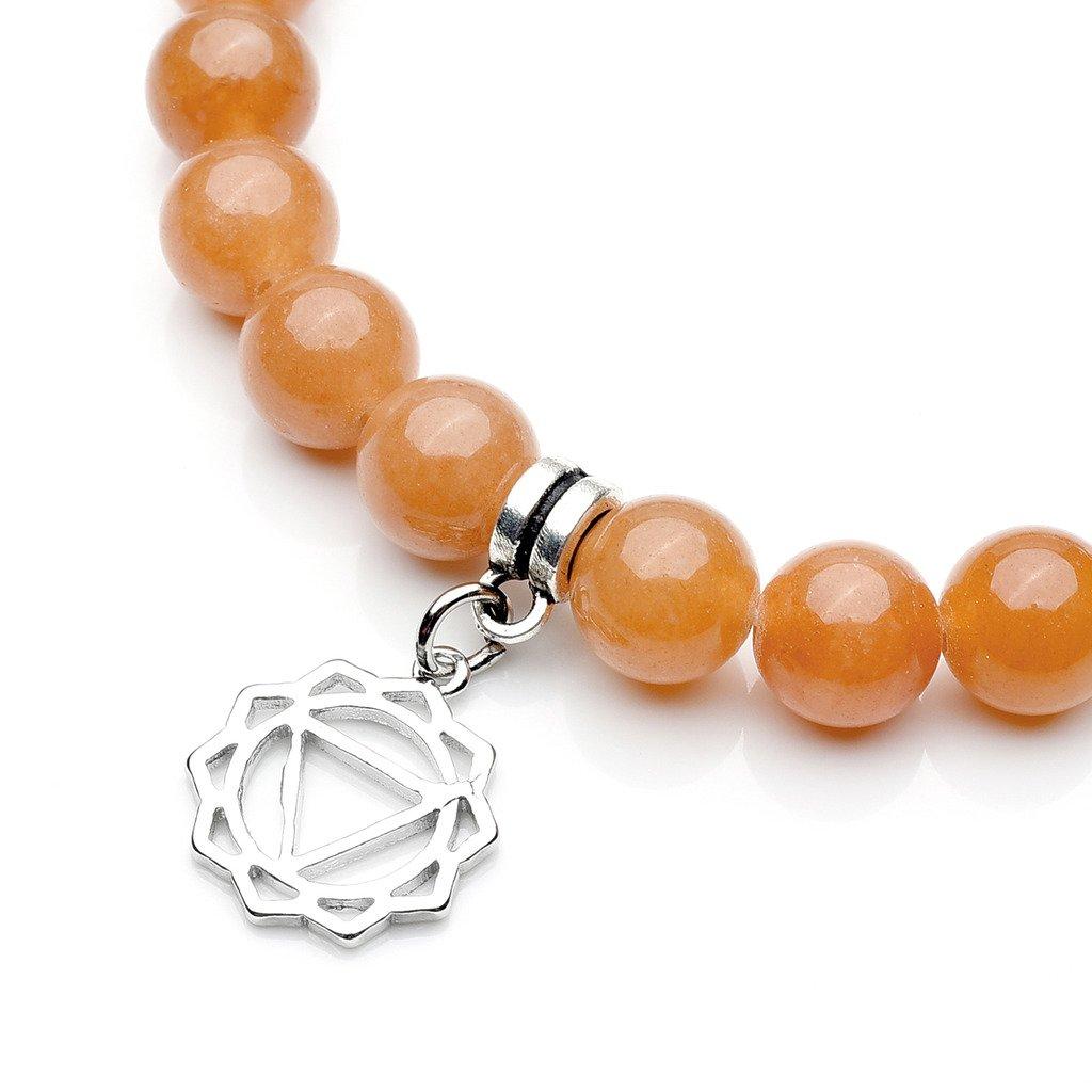 Top Plaza 7 Chakra Reiki Healing Crystals Yoga Balance Irregular Shape Polished Tumbled Palm Stones W//7 Chakra Healing Crystal Bracelet /(OM Symbol/) ATPUS63273