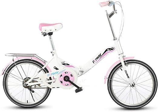 Oanzryybz Bicicleta Plegable de Bicicletas Cambio de Frenos de ...