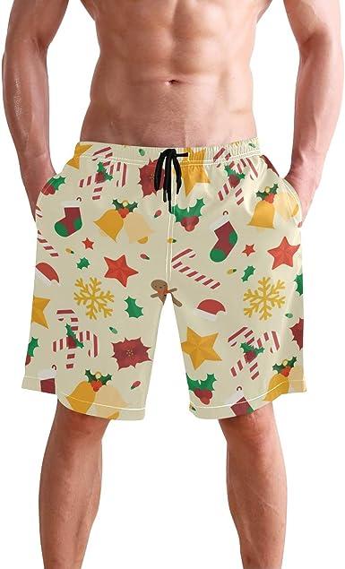 Christmas Cookies Swim Shorts Mens Swim Trunks Beach Shorts Board Shorts