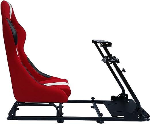 Fk Automotive Game Seat Spielsitz Für Pc Und Spielekonsolen Stoff Rot Weiß Games