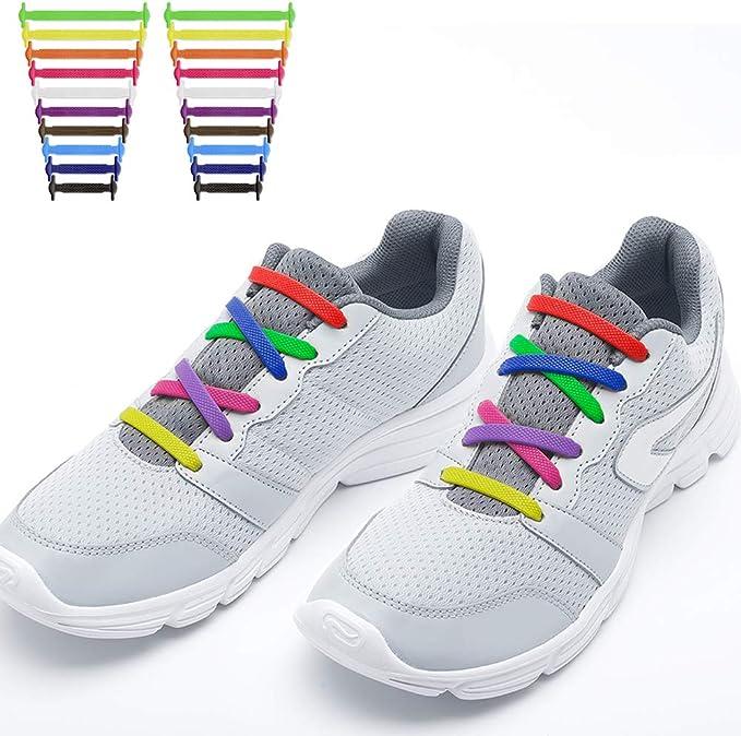 RJSport - Cordones elásticos para zapatillas de deporte para niños ...