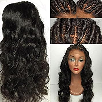 Amazon.com : Eva Hair Full Lace Human Hair