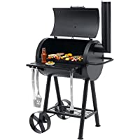 Tepro Holzkohle BBQ Smoker, Holzkohlegrill -grillen und smoken wie ein Profi