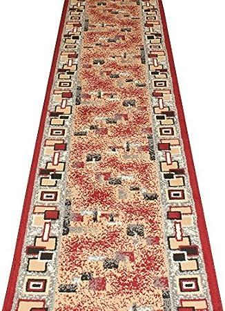 Moderne Bon Marché Escaliers Runner Couloir XLarge Petit Tapis 70-80-100 cm Long Tapis