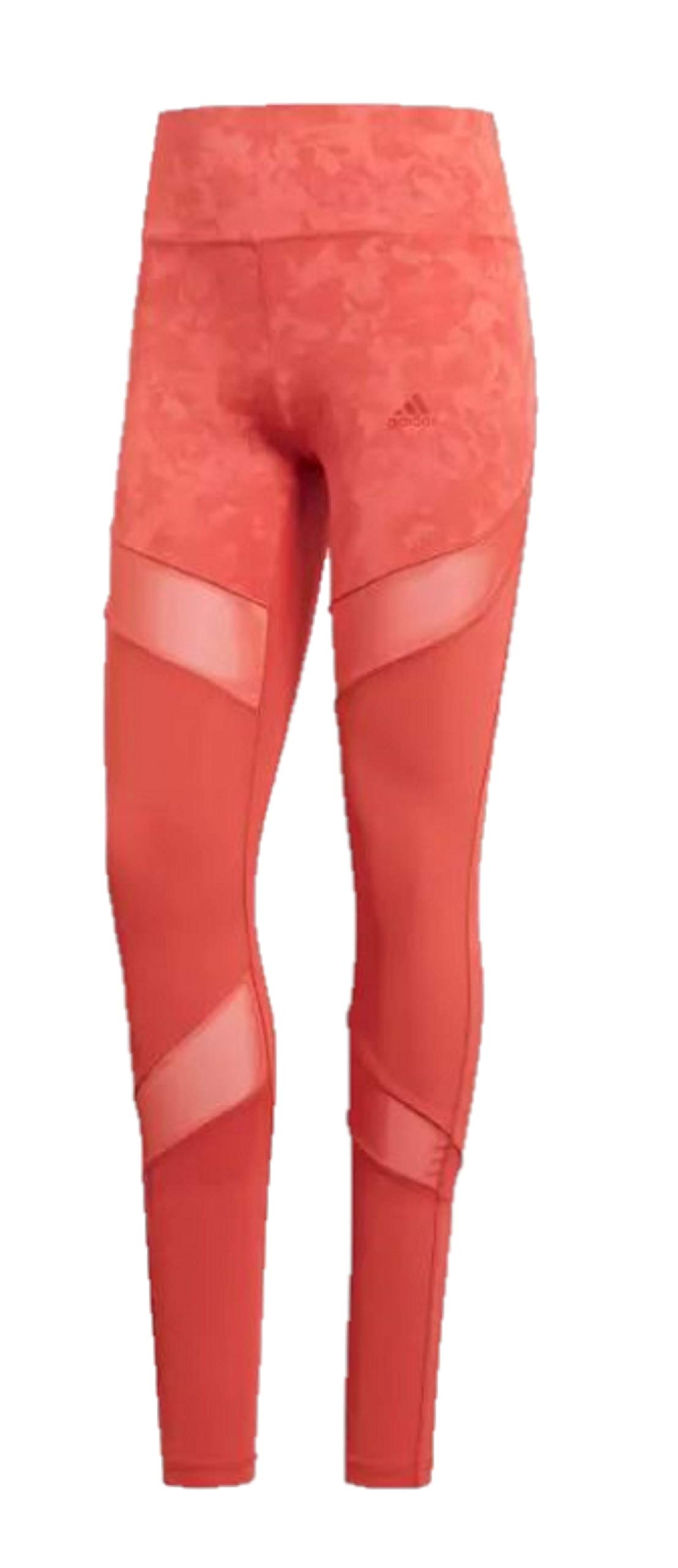 adidas Women's Climalite Ultimate High Rise Printed Long Tights, Trace Scarlet/Print, Small by adidas (Image #6)