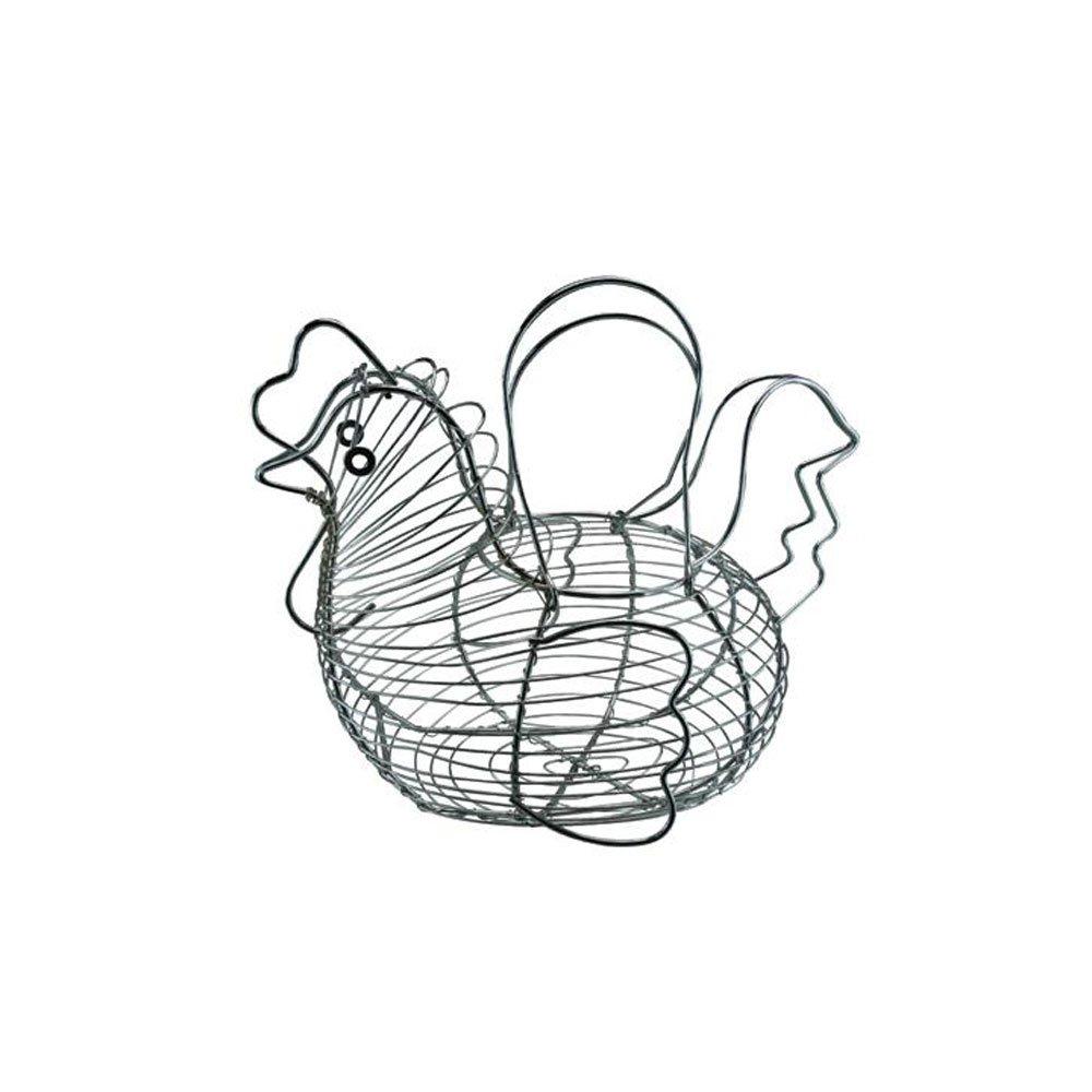 Apollo Chromed Hen Basket For Eggs
