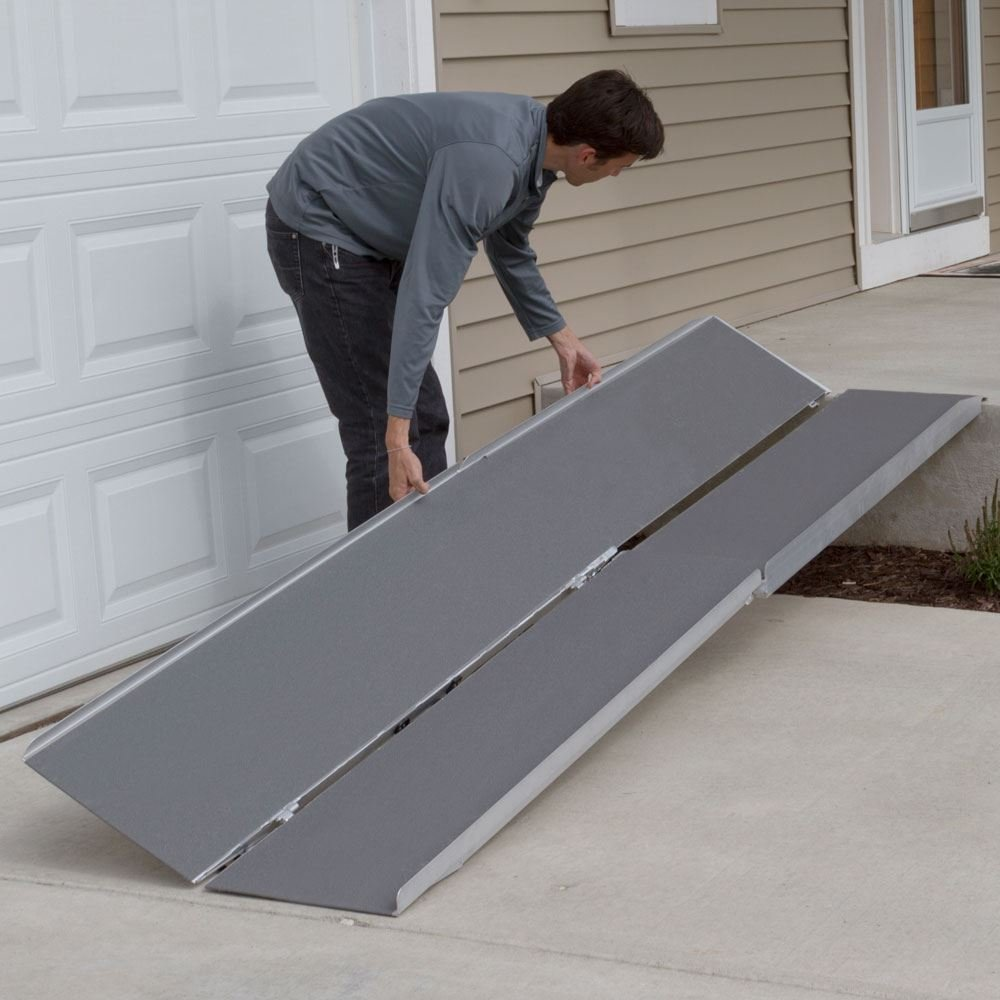 Multi-Fold Mobility Scooter and Wheelchair Ramp - 12 ft. by Rage Powersports (Image #3)