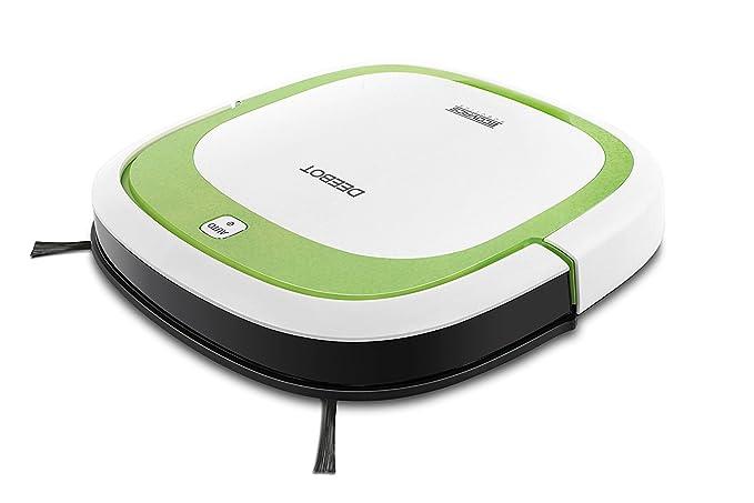 Ecovacs DEEBOT SLIM aspiradora robotizada Bolsa para el polvo Verde, Blanco 0,32 L - Aspiradoras robotizadas (Bolsa para el polvo, Verde, Blanco, Plaza, ...