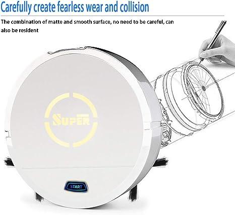 EqWong Robot aspirador, robot aspirador robot aspirador, 1200 Pa de fuerza de succión barredora robot aspirador para dueños de mascotas carga para propietarios de animales domésticos: Amazon.es: Bricolaje y herramientas