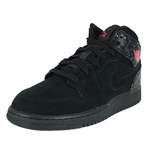 newest de2cc b881b Nike Girls   Air Jordan 1 Mid (Gs) Fitness Shoes