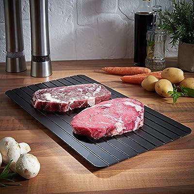 Bandeja descongelante para descongelar la comida de la carne, la ...