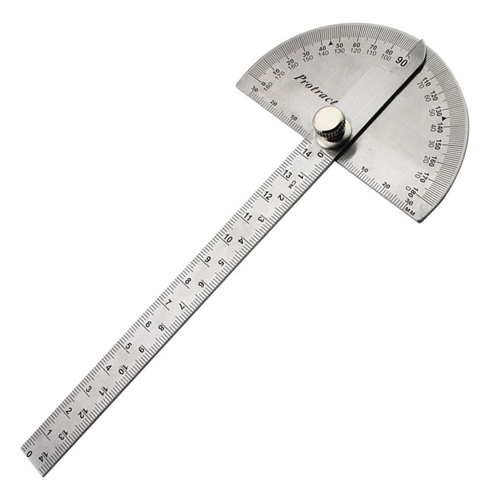 180//° menuiserie Angle R/ègle rotatif Rapporteur Jauge Outil de mesure S