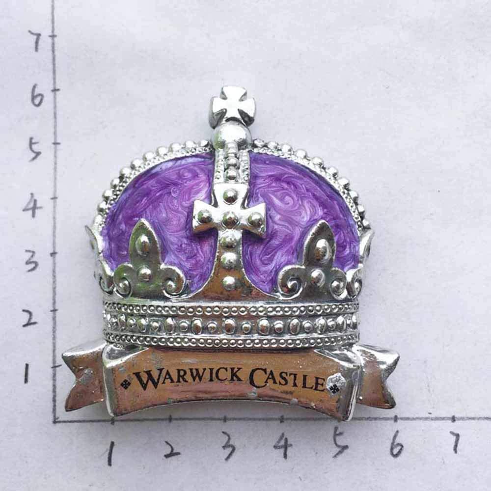 Corona 3D Castillo de Warwick Inglaterra Reino Unido Refrigerador ...