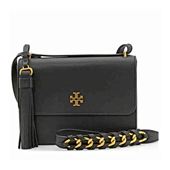 89885a0603 Amazon.com  Tory Burch Brooke Ladies Small Leather Shoulder Bag ...