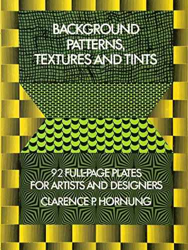 Background Patterns, Textures and Tints (Dover Pictorial Archive)