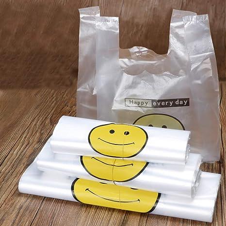 Brussels08-50 bolsas de plástico para la compra con asa ...