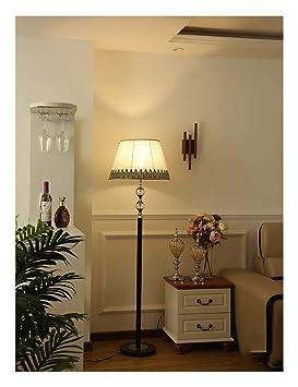 QPSGB Lámpara de pie Minimalista Moderna, Dormitorio en la ...