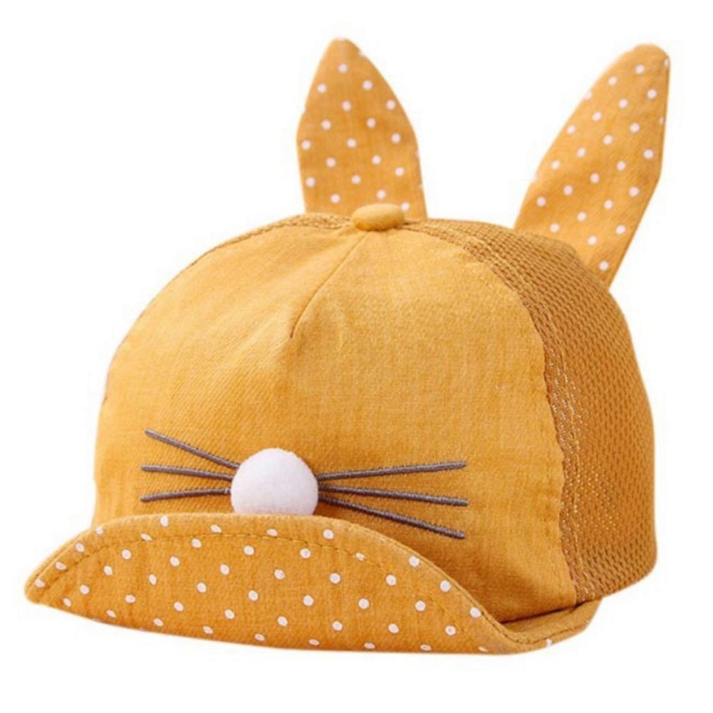 ZHUOTOP Newborn Cute Rabbit Ear Casual Baseball Caps