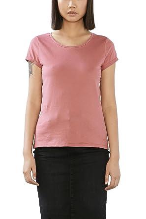 Esprit Women's 017CC1K033 T-Shirt, (Blush)