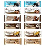 #8: Quest Nutrition Protein Bar Fan Favorites Variety Pack. Low Carb Meal Replacement Bar w/ 20g+ Protein. High Fiber, Soy-Free, Gluten-Free (12 Count)